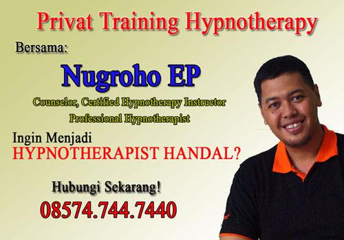 pelatihan belajar hipnoterapi